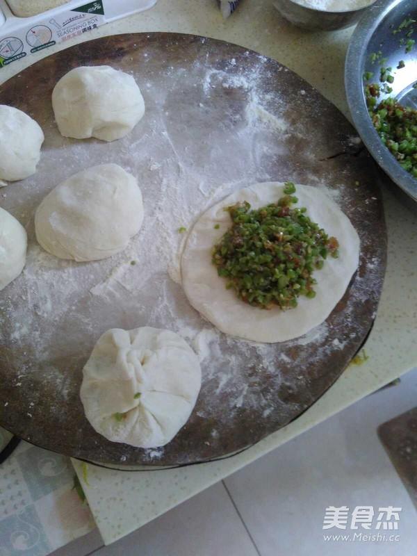 猪肉豆角软馅饼的简单做法