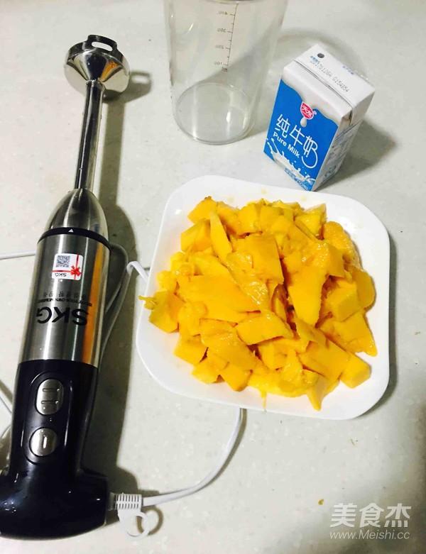 芒果奶昔的做法大全