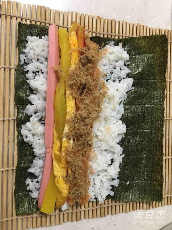 寿司卷怎么煮