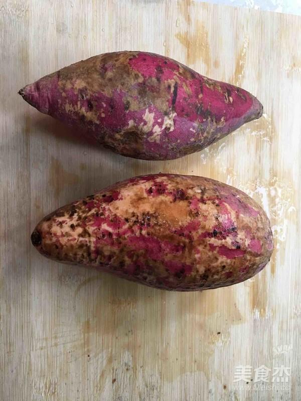 砂锅烤蜜汁红薯的步骤