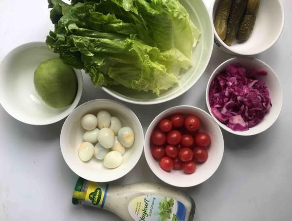 鹌鹑蛋果蔬沙拉的做法图解