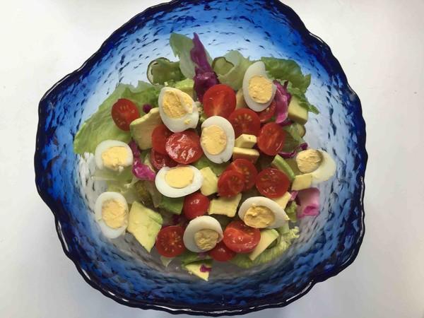 鹌鹑蛋果蔬沙拉怎么煮