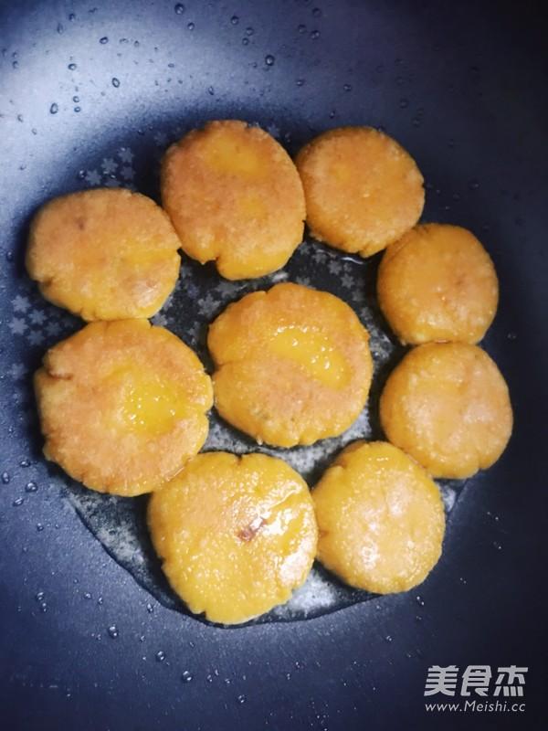 香煎南瓜饼怎么做