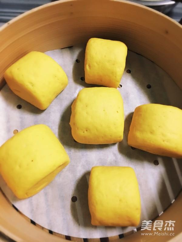 南瓜馒头--金灿灿的刀切馒头怎样炒