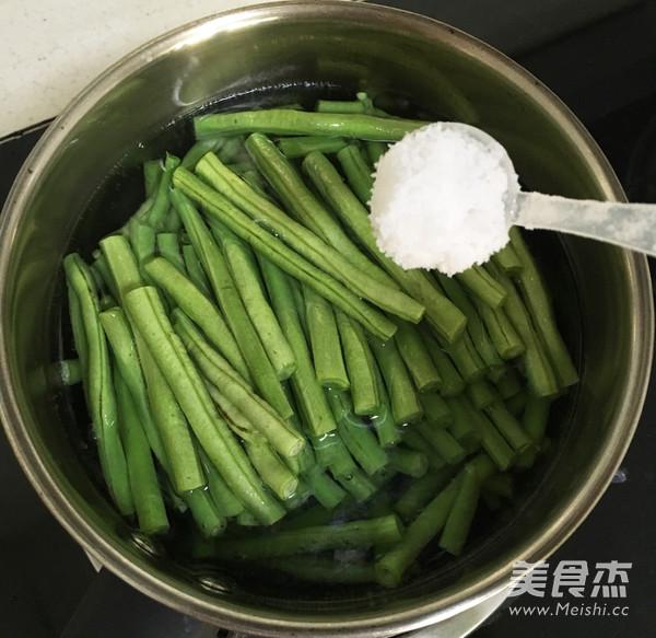 姜汁豇豆的家常做法
