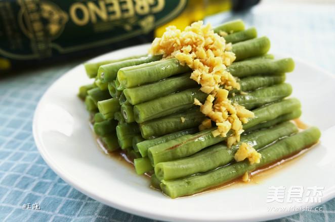 姜汁豇豆怎么做