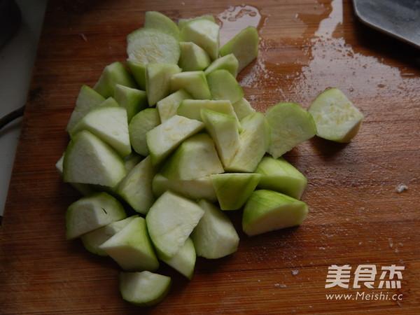 清炒丝瓜的做法图解