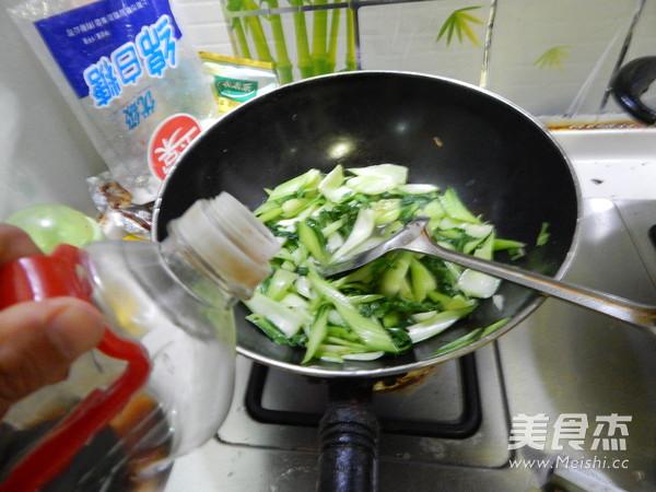 炒青菜怎么做