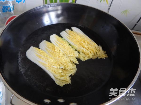 豆瓣酱蒸娃娃菜粉丝的家常做法