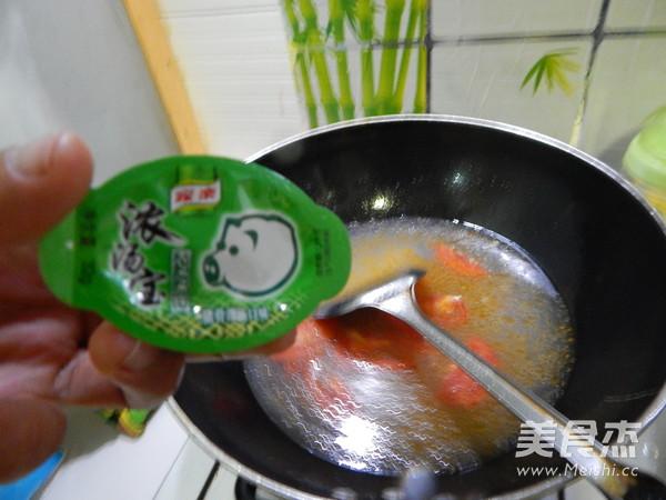 番茄蛋皮豆腐丝汤怎样煸