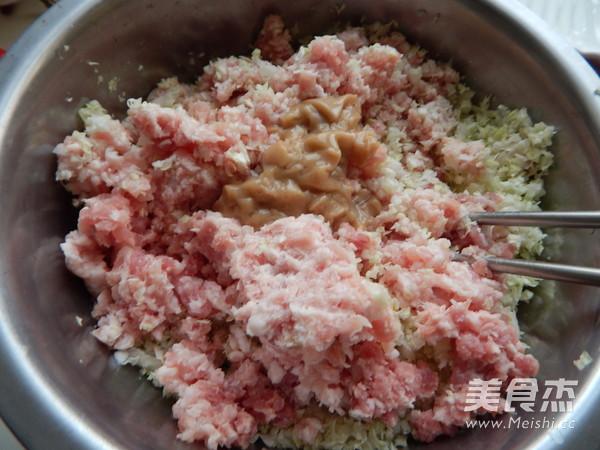 白菜猪肉煎饺子怎么做