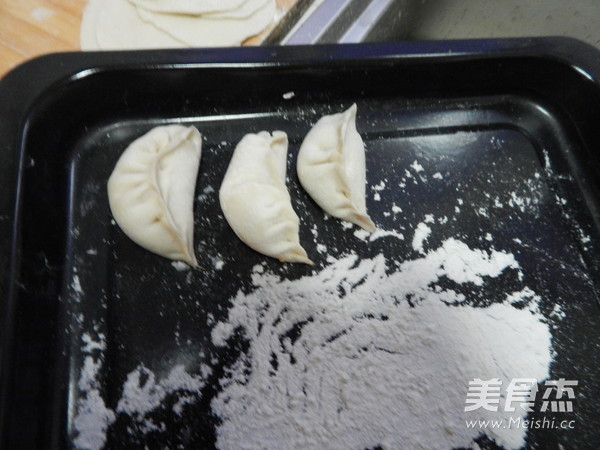 白菜猪肉煎饺子的制作大全