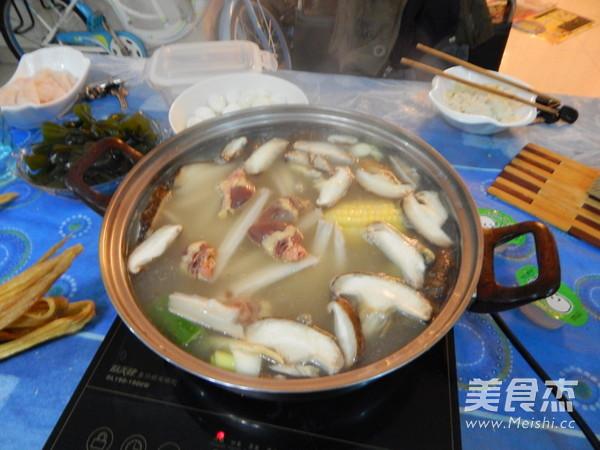 鱼片火锅的制作