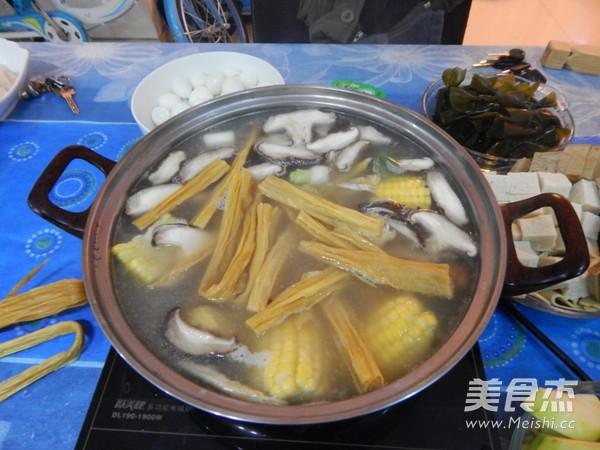 鱼片火锅的制作方法