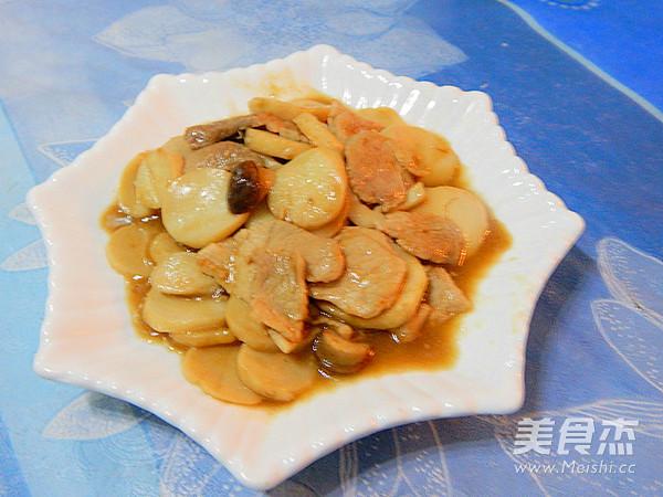 耗油杏鲍菇炒肉片怎样做