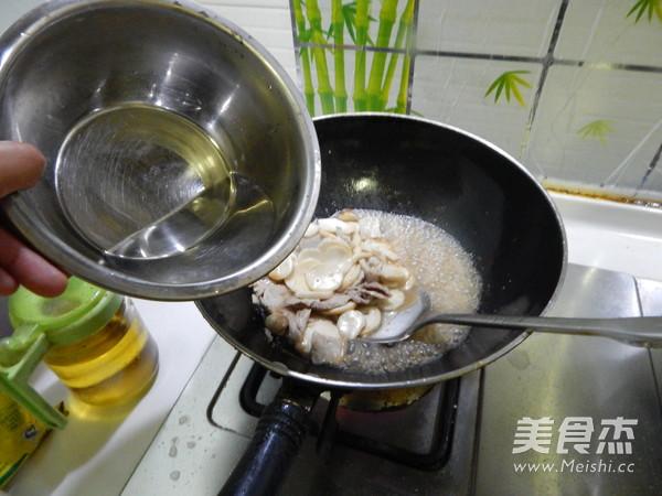 耗油杏鲍菇炒肉片怎么煸