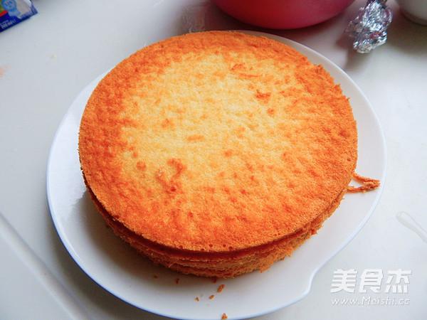 八寸蛋糕饼的做法大全