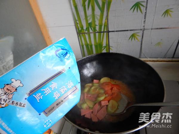 西红柿炒丝瓜怎么炒