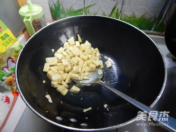 春笋烤豆干怎么炒