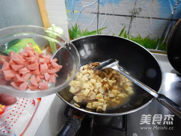 春笋烤豆干怎样做