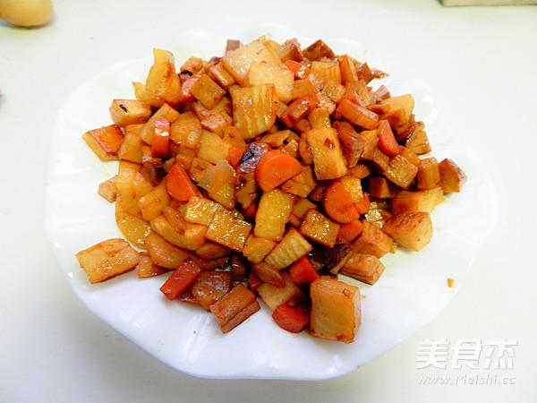 春笋烤豆干的制作方法