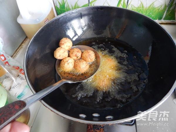 豆腐丸子的制作