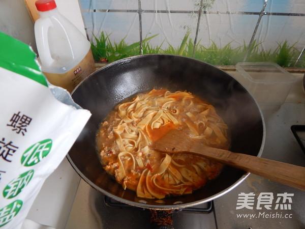 水煮肉末千张的制作方法