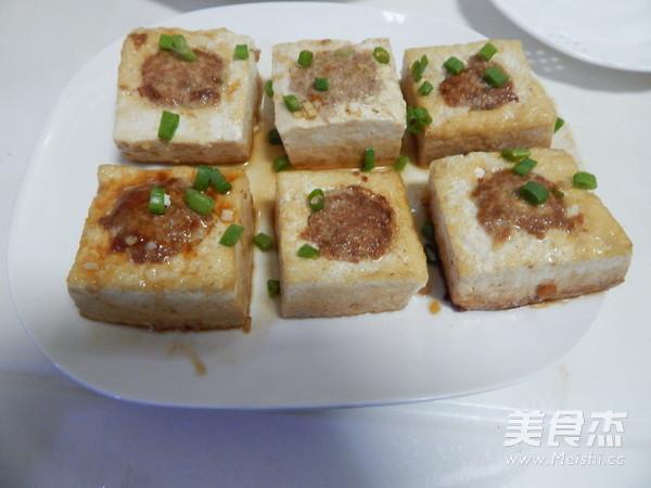 酿豆腐的制作方法