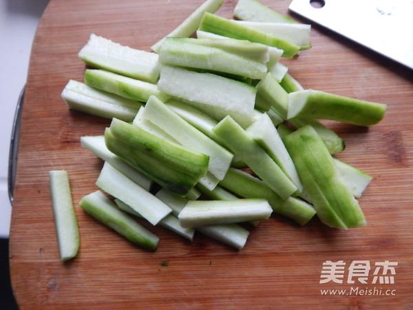 丝瓜烧豆腐的做法图解