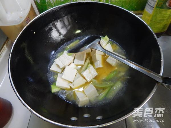 丝瓜烧豆腐怎么煮