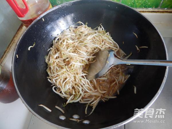 清炒豆芽怎么做