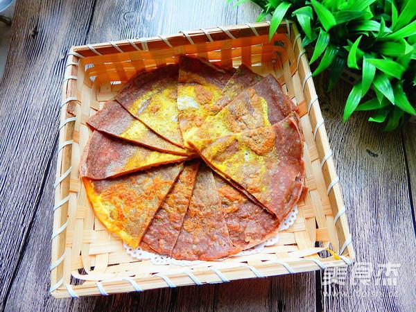 黑麦面包菜煎饼的制作