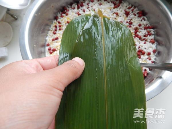 小米红豆粽子怎么做