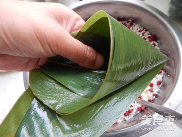 小米红豆粽子怎么炒