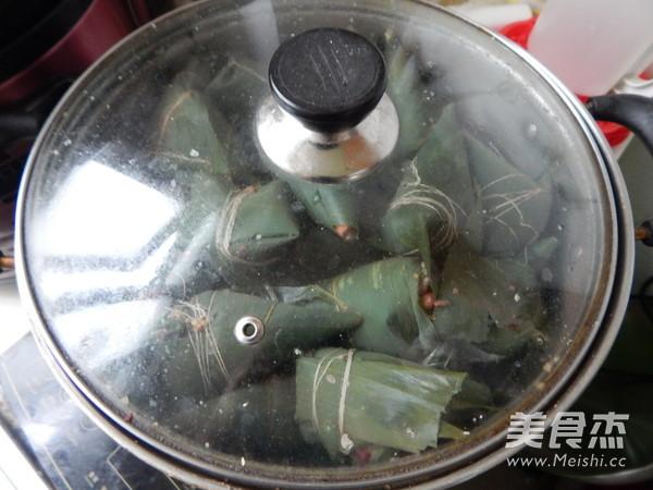 小米红豆粽子怎样做