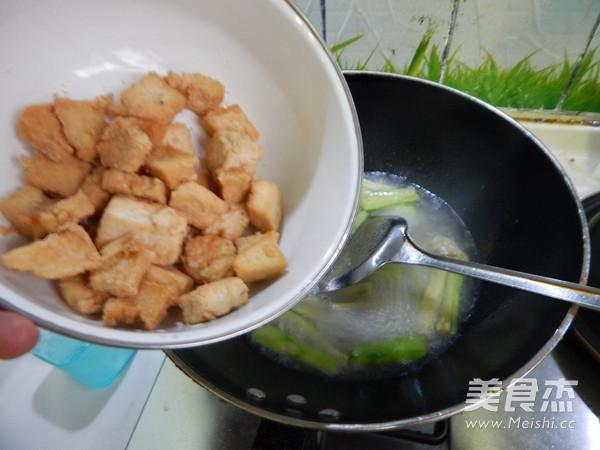 丝瓜烧油豆腐怎么煮