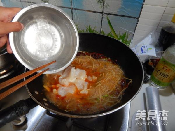 麻辣水煮鱼片的制作