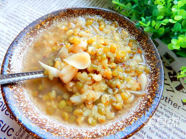 绿豆百合汤怎么煮