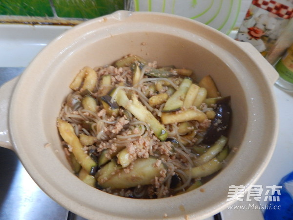 肉末粉丝茄子砂锅煲怎样煮