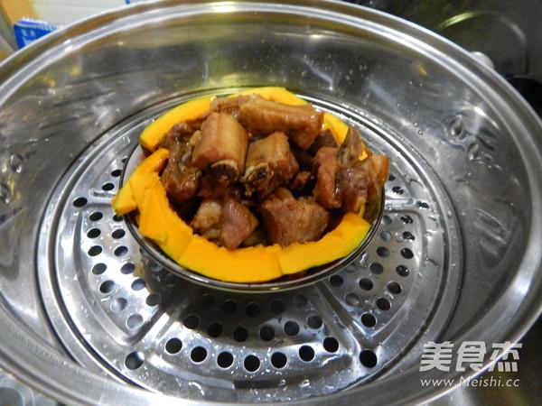 南瓜蒸排骨怎样煮