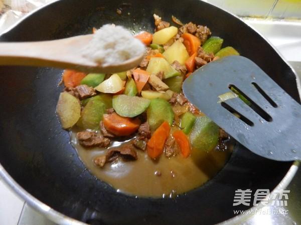 青红萝卜烧羊肉的制作大全