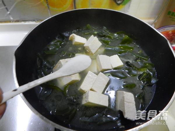 海带豆腐汤怎么煮