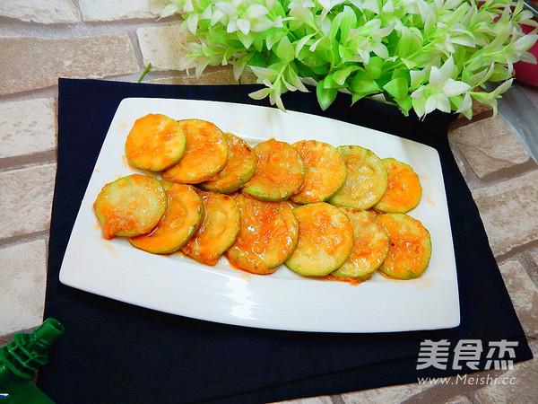 茄汁西葫芦片的做法大全