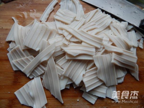 扁豆角炒芋头粉的家常做法
