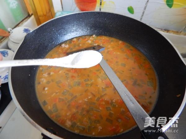 沙茶莴笋肉末凉拌米线怎样炒