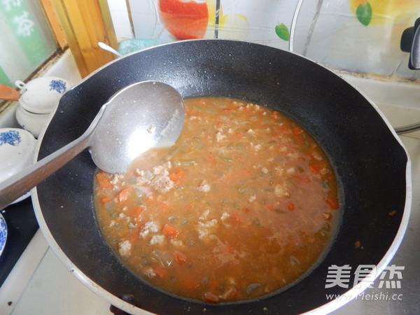 沙茶莴笋肉末凉拌米线怎样炖