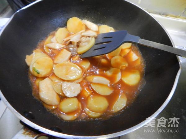 糖醋酱炒土豆片怎么煮