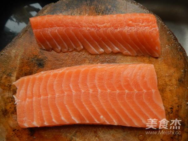 黑胡椒三文鱼的做法图解