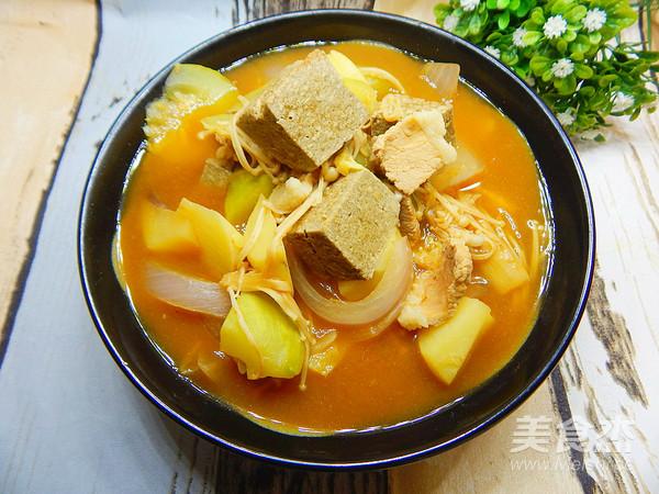 大酱汤的制作