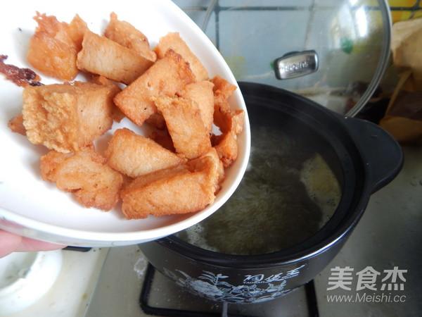 咖喱鱼豆腐粉丝的简单做法